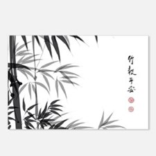Asian Bamboo Postcards (Package of 8)