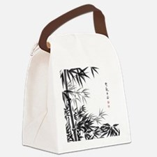Asian Bamboo Canvas Lunch Bag