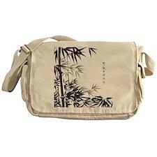 Asian Bamboo Messenger Bag