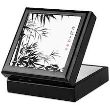 Asian Bamboo Keepsake Box