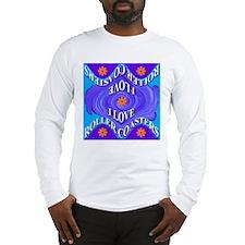 I Love Roller Coasters Long Sleeve T-Shirt