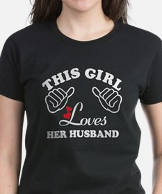 this girl loves her husband Tee