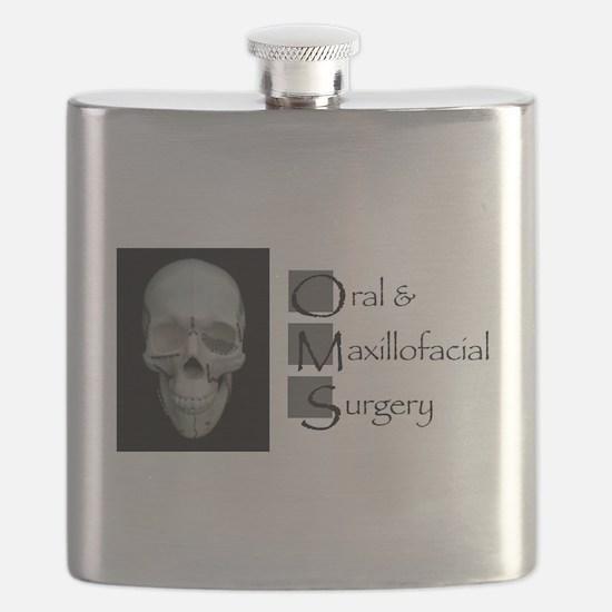 OMS surgical skull Flask