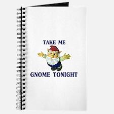 Take Me Gnome Tonight Journal