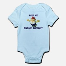 Take Me Gnome Tonight Infant Bodysuit