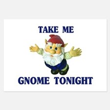 Take Me Gnome Tonight Invitations