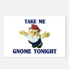 Take Me Gnome Tonight Postcards (Package of 8)
