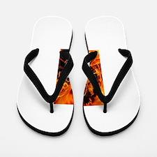 Fire and Powder Flip Flops