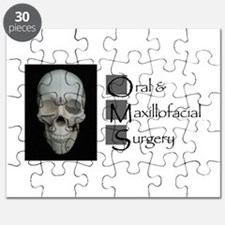 OMS surgical skull Puzzle