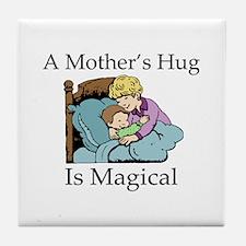 Mother's Magical Hug Tile Coaster