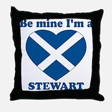 Stewart, Valentine's Day Throw Pillow