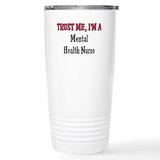 Cute Trust me nurse Travel Mug
