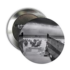 """D-Day 6/6/1944 2.25"""" Button"""