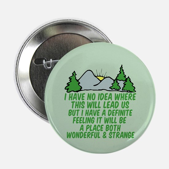 "Twin Peaks Trees 2.25"" Button"