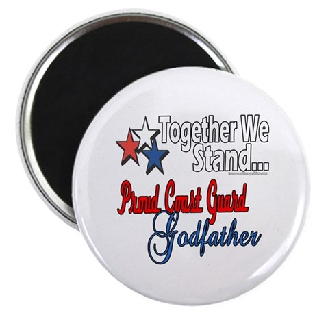 "Coast Guard Godfather 2.25"" Magnet (10 pack)"