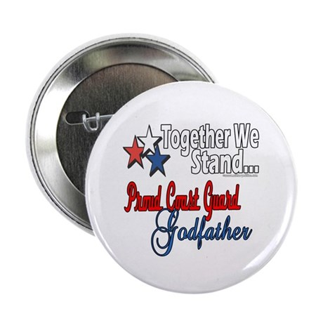 """Coast Guard Godfather 2.25"""" Button (100 pack)"""