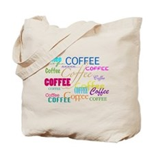Cute Caffeine Tote Bag