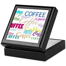 Cool Coffee Keepsake Box