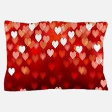 1,2,3,4,5.....hearts Pillow Case