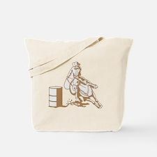 Barrel Racer Tote Bag