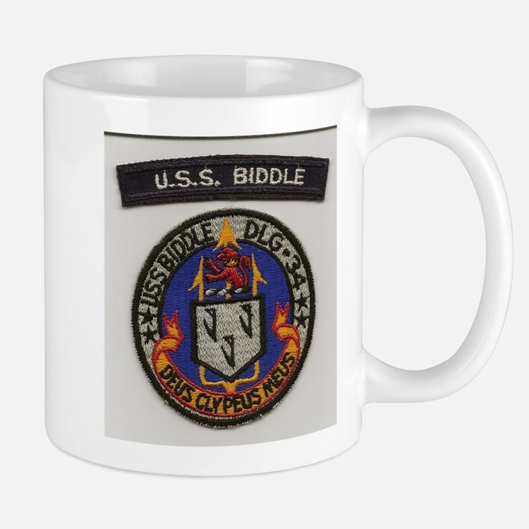 USS Biddle DLG 34 Mugs