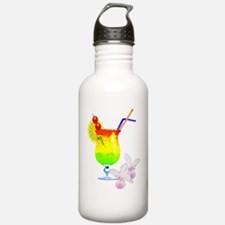 Funny Luau Water Bottle