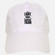 Light at the End of the Tunne Baseball Baseball Cap