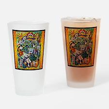 Purple Trader Drinking Glass