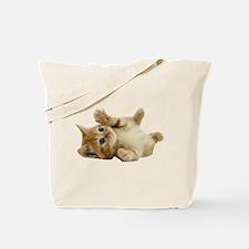 Tickle Me Kitten Tote Bag