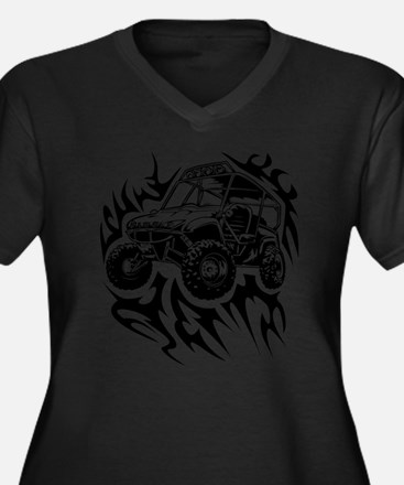 Fired Up UTV Plus Size T-Shirt