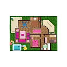 Play House 5'x7'Area Rug