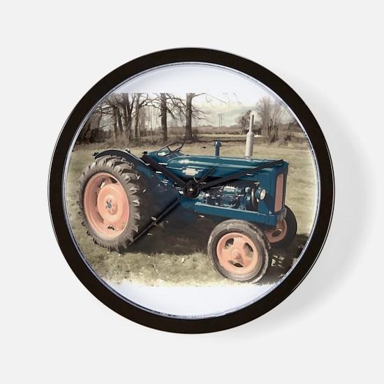 Fordson Vintage Farm Tractor Wall Clock