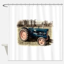Fordson Vintage Farm Tractor Shower Curtain