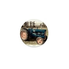 Fordson Vintage Farm Tractor Mini Button