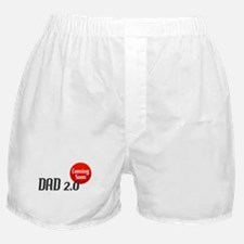 Dad 2.0 Expectant Father Boxer Shorts