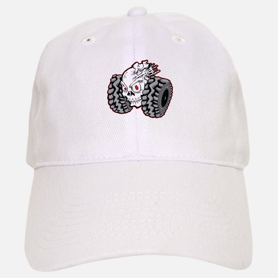 OffRoad Styles Skull Roller Baseball Baseball Baseball Cap