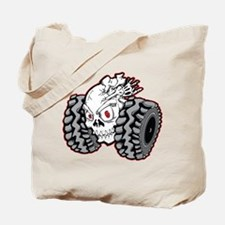 OffRoad Styles Skull Roller Tote Bag