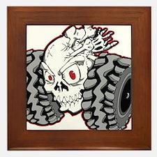 OffRoad Styles Skull Roller Framed Tile