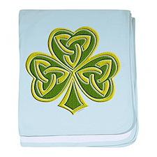 Celtic Trinity baby blanket