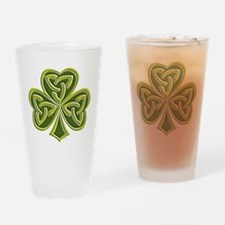 Celtic Trinity Drinking Glass