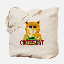 The Coffee Cat Tote Bag
