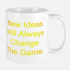 New Ideas Will Always Change The Game. Mugs