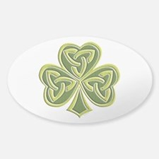 Celtic Trinity Sticker (Oval)