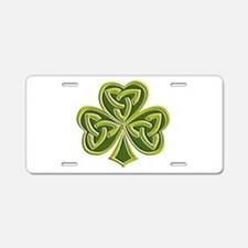Celtic Trinity Aluminum License Plate