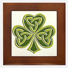 Celtic Trinity Framed Tile
