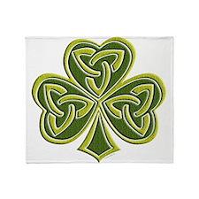 Celtic Trinity Throw Blanket