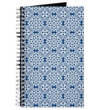 Classic Blue & White Lace 2 Journal