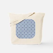 Classic Blue & White Lace 2 Tote Bag