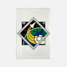 STS 122 Atlantis Rectangle Magnet