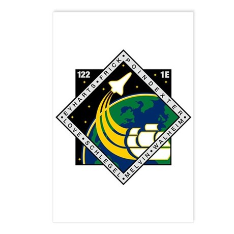 STS 122 Atlantis Postcards (Package of 8)